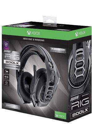 Plantronics RIG 800LX Wireless Gaming Headset - Black