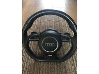 Audi DSG Flat Bottom Steering Wheel