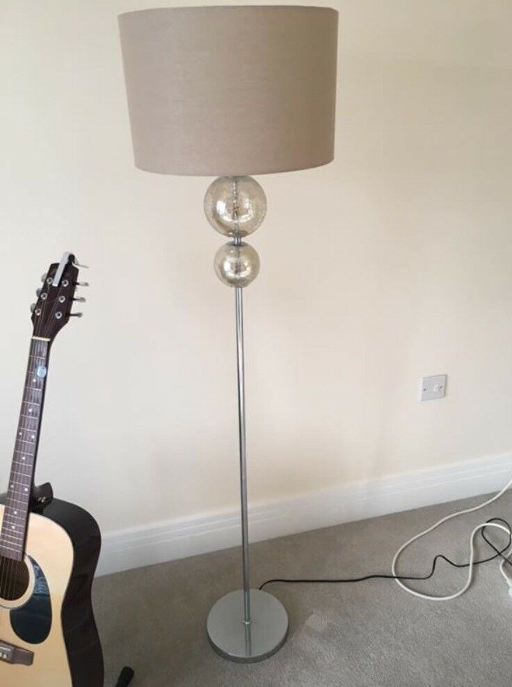 Next Cream Floor Lamp