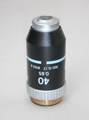 Nikon 40x 0.65 Microscope Objective Wd 0.6 Very Nice