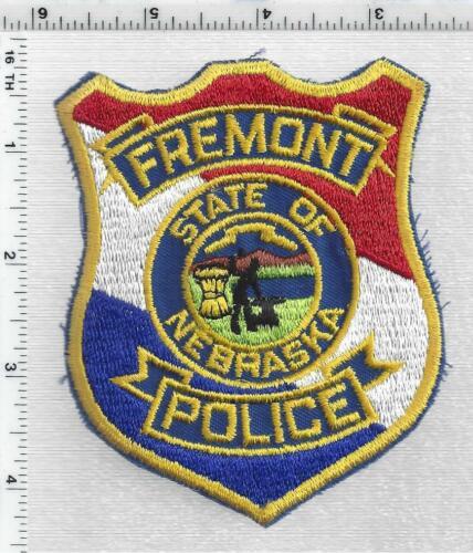 Fremont Police (Nebraska) 1st Issue Shoulder Patch