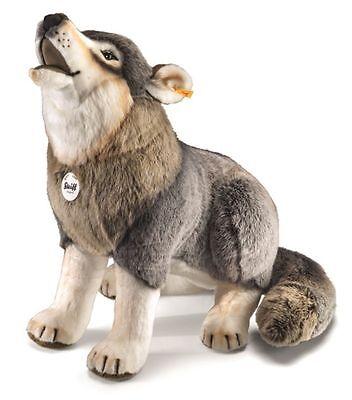 Steiff 075759 Snorry heulender Wolf Webpelz 60 cm
