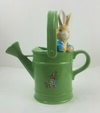 Peter Rabbit Vintage1999 Beatrix Potter Green Ceramic