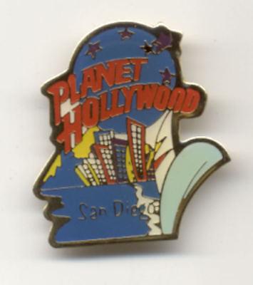 Planet Hollywood San Diego Cityscape City - Hollywood Cityscape