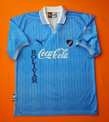 4.9/5 Bolivar 2002 Original Football Soccer Home Jersey Shirt Puma Size XL image