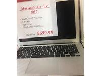 MacBook Air 13 - 2017 - i5 - 8gb - 128gb - Receipt & Warranty