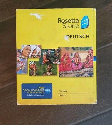 Used, Rosetta Stone - German/Deutsch - Level 1 - 30501 for sale  Tucson