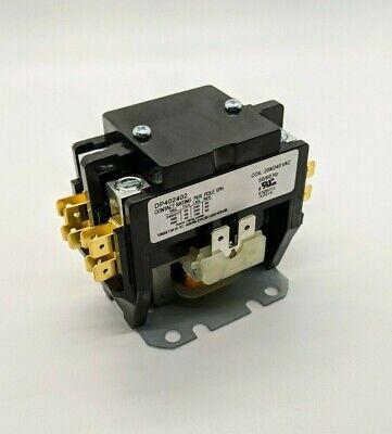 Supco 2 Pole 40 Amp Contactor Relay 208-230v Coil Dp402402