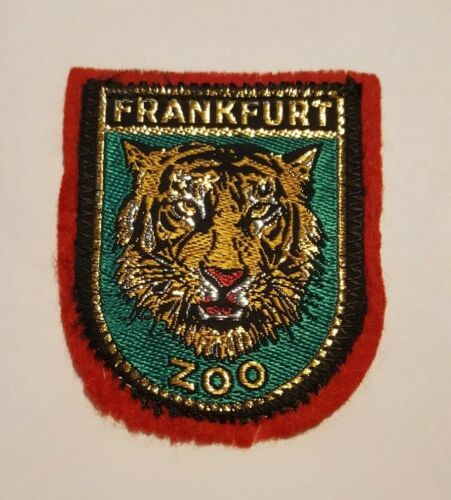 Travel Souvenir Patch Frankfurt Zoo 2 1/4in x 2 3/4in Germany