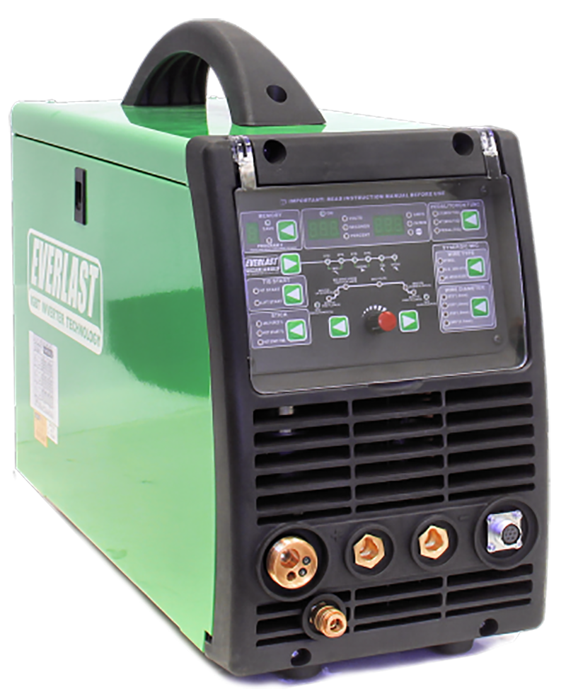 2018 Everlast PowerMTS 211Si MIG TIG Stick 200amp 110v/220v