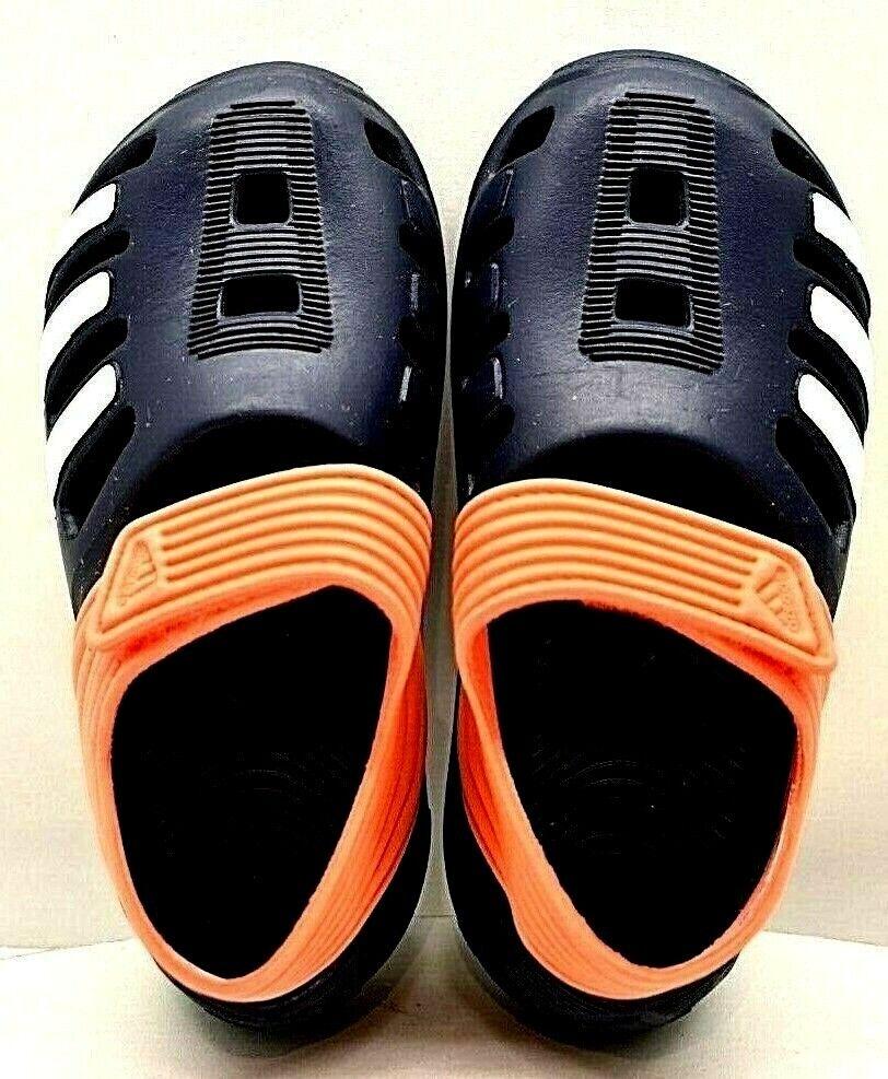 Adidas Toddler Swim Beach Rubber Sandals Blue US SZ 7k FREE