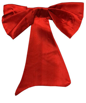 New adults red crazy bow tie Christmas party fancy dress costume accessory