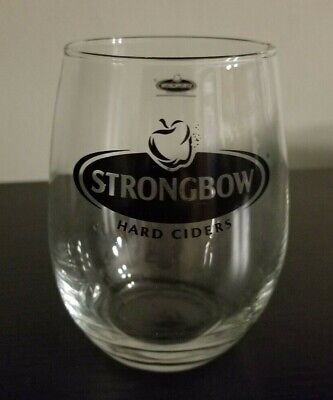 Strongbow Cider - Strongbow Hard Apple Cider 12 oz Stemless Wine Glass Tumbler New