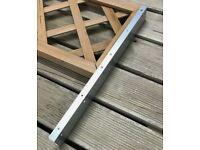 Trellis Postfix Brackets 795mm Fence Height Extension Arms X15 Pairs
