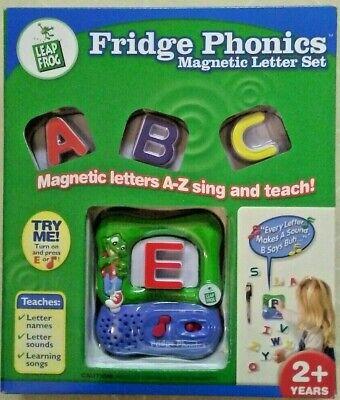 Leapfrog Fridge Phonics Magnetic Letter Set 2003 Original Educational New/Sealed