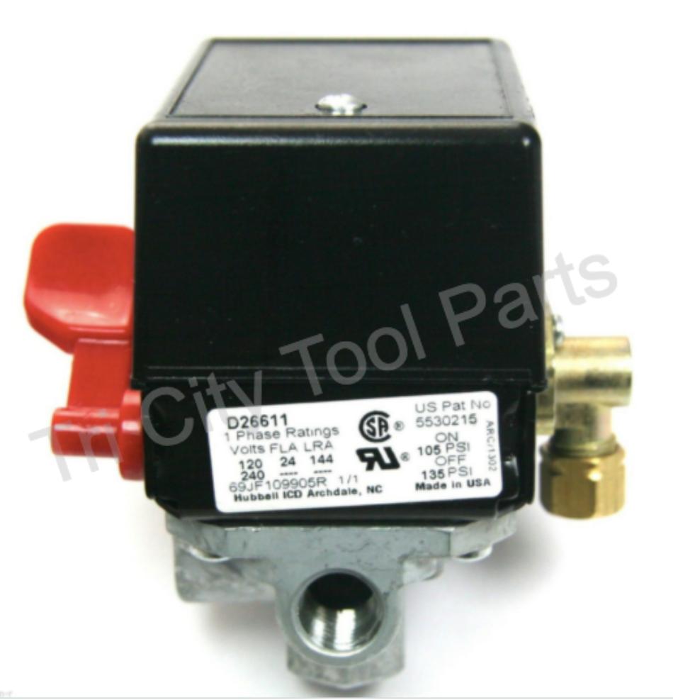 5140118-56 Porter Cable  Air Compressor Pressure Switch Z-D2