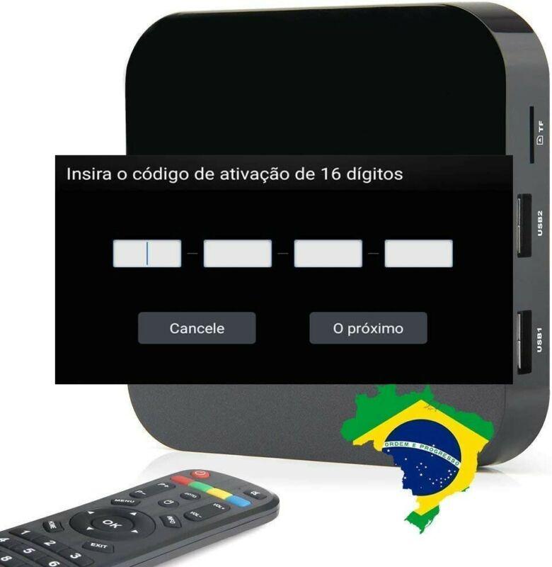 Brazil IPTV Box Código de Renovação A1 A2 A3 HTV 3 4 5 6 7 Brasil TV Renew Code