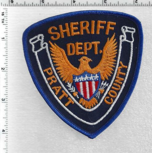 Pratt County Sheriff (Kansas) 1st Issue Shoulder Patch