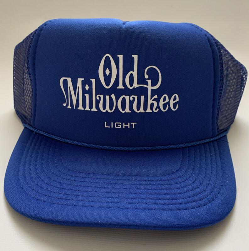 Old Milwaukee Light Trucker Hat