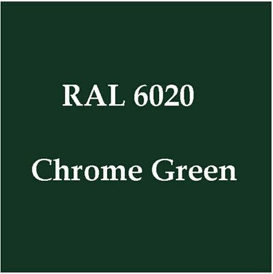 Powder Coating Paint Ral 6020 Chrome Green 1lb