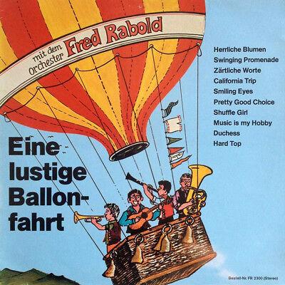 Orchester Fred Rabold – Eine lustige Ballonfahrt FR 2300 RARE LIBRARY SOUL LP