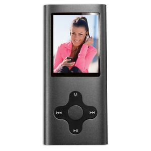 Eclipse-180-PRO-GM-1-8-034-LCD-4GB-MP3-USB-Music-Video-Player-Camera-Radio-Gray
