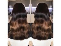 Mobile Hair Extension Services - Micro Rings, Keratin Bonds, Weave, Tapes, Colour Services
