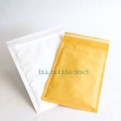 B GRADE Bubble Mailers Envelopes Featherpost Size H/5 approx 660 (3 boxes)