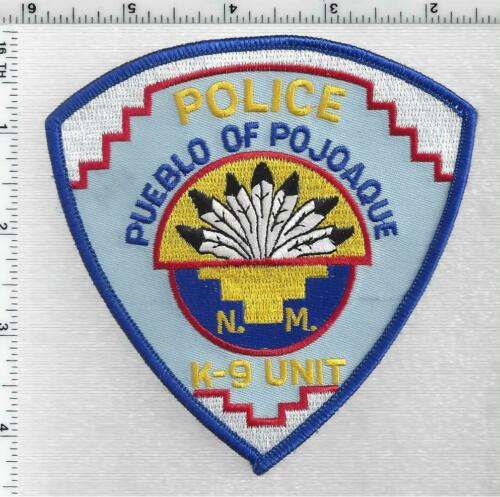 Pueblo of Pojoaque Police (Indian-Tribal, New Mexico) 2nd Issue Shoulder Patch