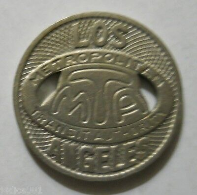Los Angeles M. T. A. (California) transit token - CA450K