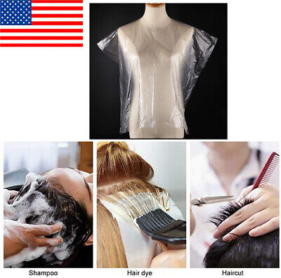 New 200pcs Disposable Hair Cutting Capes Hairdressing Home B