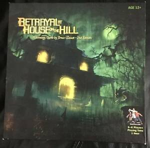 Betrayal at House on the Hill Board Game Annerley Brisbane South West Preview