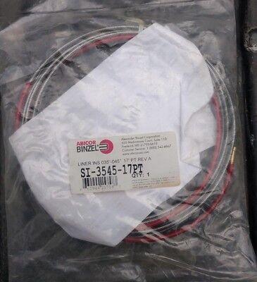 Abicor Binzel .035-.045 Mig Gun Liner 17ftsi-3545-17pt