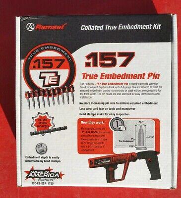 Ramset Te114xt 1-14 True Embedment Pin - 1000 Pc Box