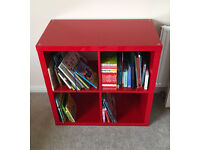 Red Kallax Ikea 4x