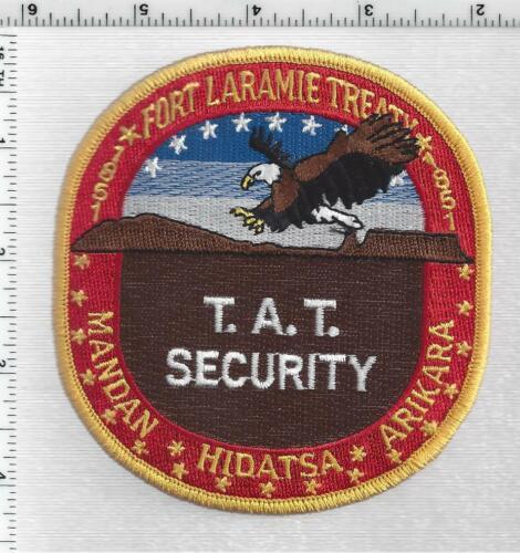 Fort Laramie Treaty 3 Nations Security (North Dakota) 1st Issue Shoulder Patch
