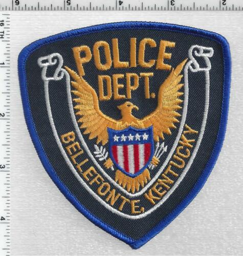 Bellefonte Police (Kentucky) 2nd Issue Shoulder Patch