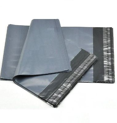 A15 Grey Packaging Plastic Envelopes Bags Size appr400 x 500mm 20 Polythene Bags