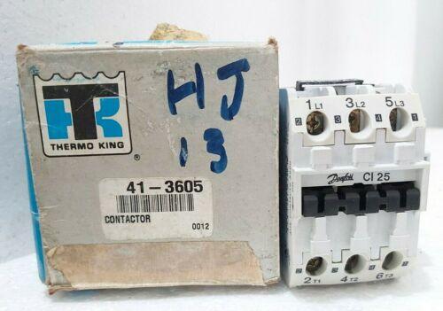 DANFOSS CI25 THERMO KING 41-3605 CONTACTOR