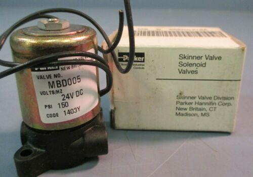 Parker Solenoid Valve MBD005 24VDC