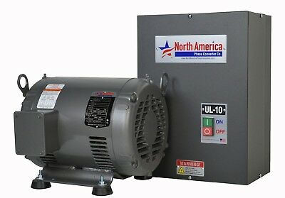 Ul-10 Pro-line 10hp Ul Listed Rotary Phase Converter - New - Made In Usa