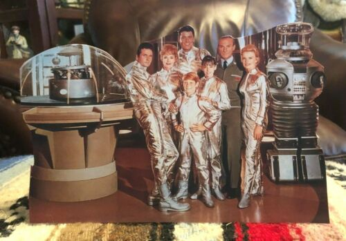 """""""Lost in Space"""" Science Fiction TV Show Tabletop Display Standee 9 1/2"""" Long"""