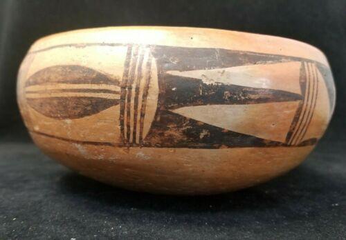 Vintage Hopi Pottery OLD Utilitarian Bowl 6 1/2 x 3