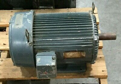 Us Electric 10 Hp Unimount Motor 3500 Rpm 230460v Fr 215t 3 Ph
