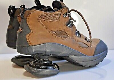 Vintage Z-Coil Mens leather hiking shoes size 9 M