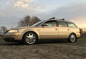 RARE 2001.5 VW Passat Wagon 5spd V6 2wd $3200 THIS WEEK!