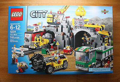 LEGO City Mining 4204 The Mine New in sealed box