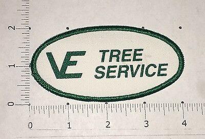 Ve Tree Service Patch   Vintage