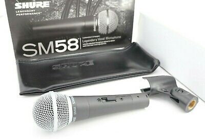 Shure SM58S Vocal Microphone Mic with On/Off (Mic Switch)