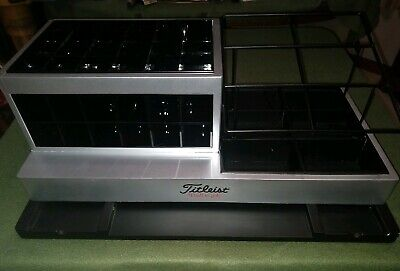 Rare Commercial Titleist Golf Ball Display Counter Top Point Of Sale-best Offer